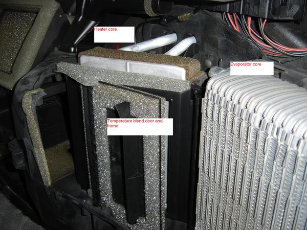 Fl Wiring Diagram Blower Blend Door Replacement With Pictures F150online Forums