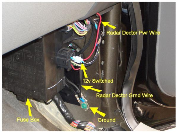 2007 Ford F 250 Fuse Box Diagram Hard Wire Radar Detector F150online Forums