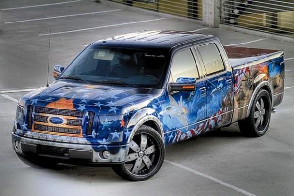 Image: Patriotic Ford F-150