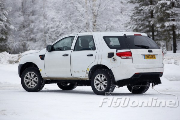 Ford Ranger CUV Spy Shots