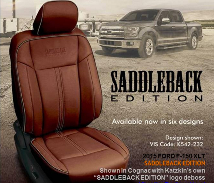 Ford King Ranch Interior: Gift Your F-Series Custom Katzkin Leathers This Year