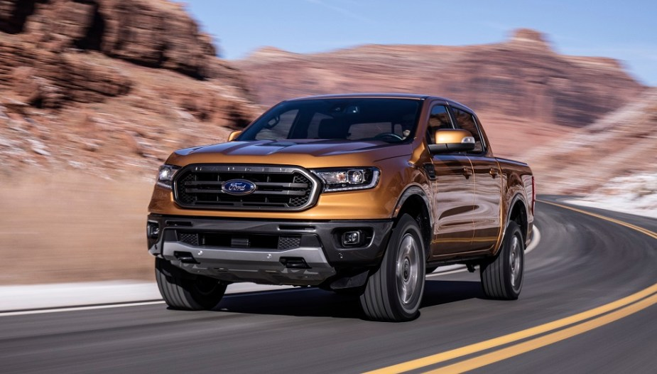 2019 Ford Ranger Front Road
