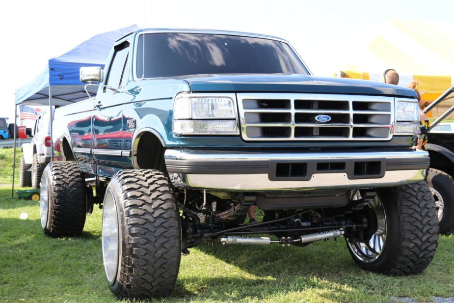 High Riding Ford Truck