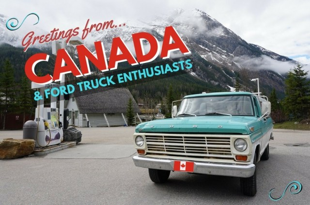Ford F-100 Across Canada