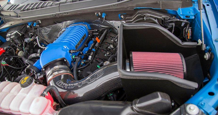Shelby F-150 Engine
