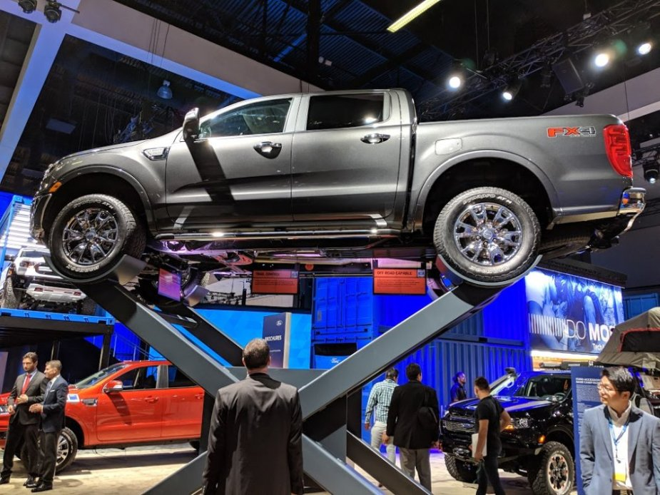 Ford Ranger FX4 in the Air