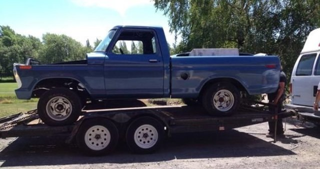 1977 Ford F-100 For Sale Side
