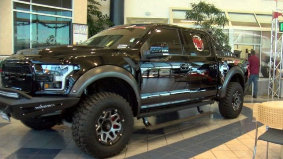 shelby baja raptor raffle to benefit first responders