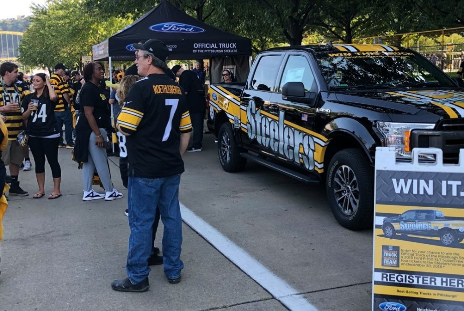 Ford F-150 Pittsburgh Steelers Edition
