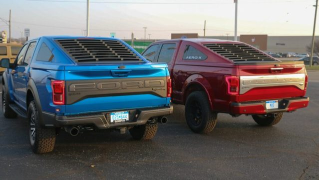Ford F-150 Mustang Bed Cap