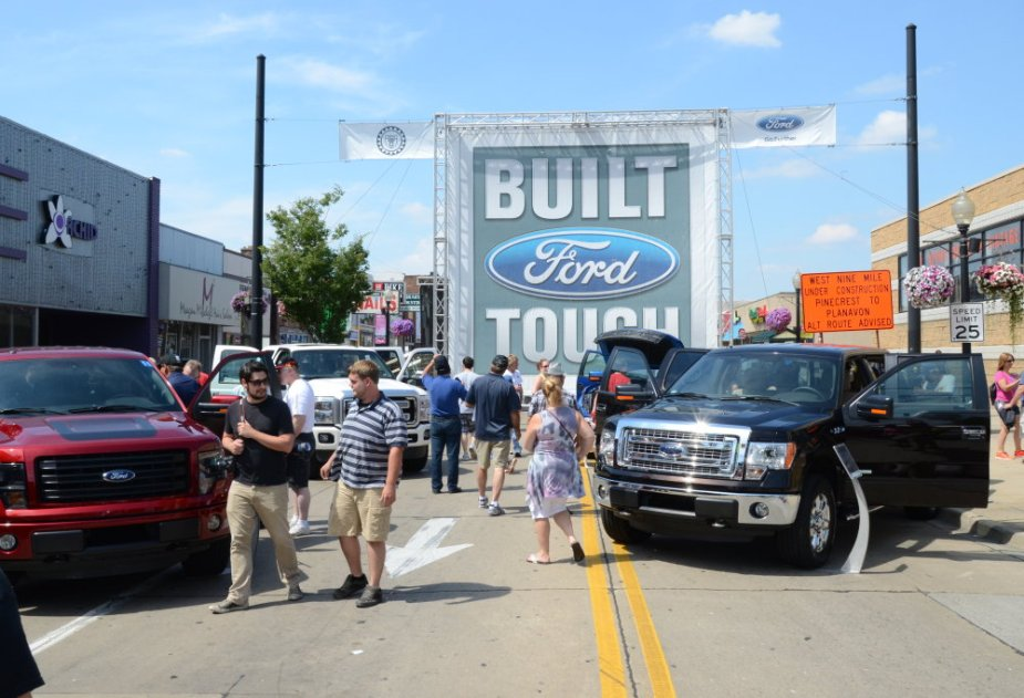 Ford Woodward F-150 Display
