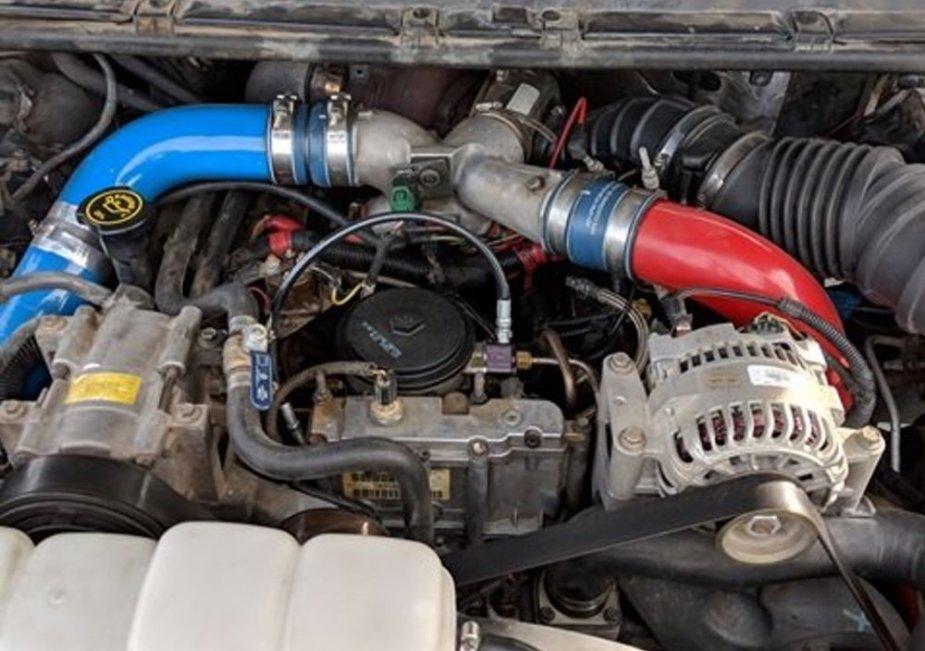 1999 F-350 Engine