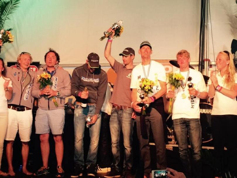 Podium Round Texel F18 2015