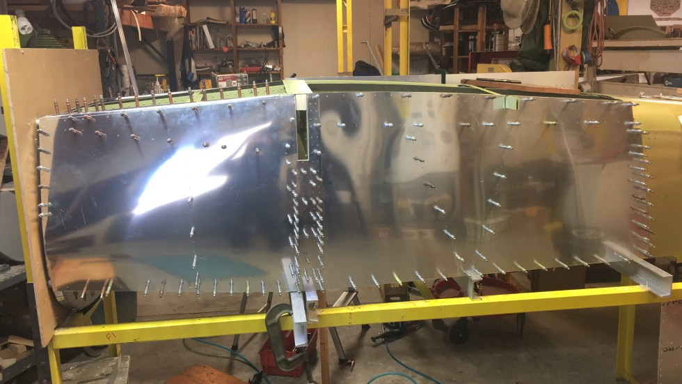 Ray Ward fuselage skinning
