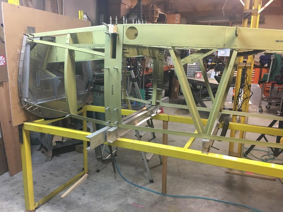 Ray Ward fuselage frame