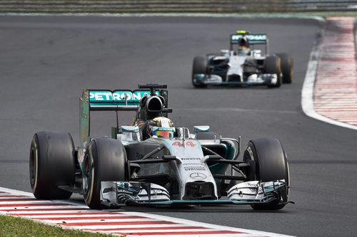 Mercedes AMG domina con una gran superioridad al resto de los equipos en lo que llevamos de temporada
