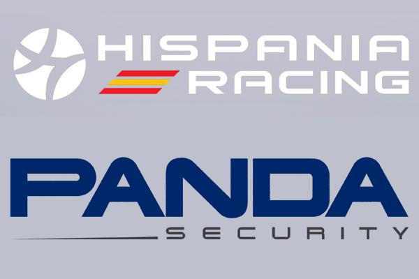 Arriba: Símbolo de Hispania. Abajo: Símbolo de Panda Security