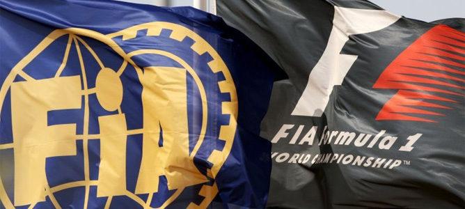 Banderas de la FIA y de la F1
