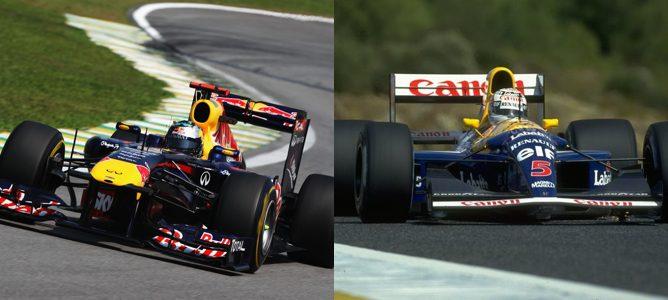 Vettel pasa el récord de poles de una temporada de Nigel Mansell en esta clasificación de Brasil