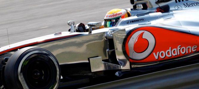 Podio del Gran Premio de Hungría