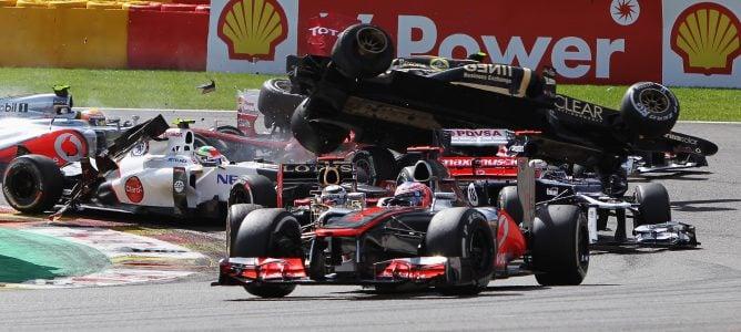 Grosjean será sancionado con un gran castigo