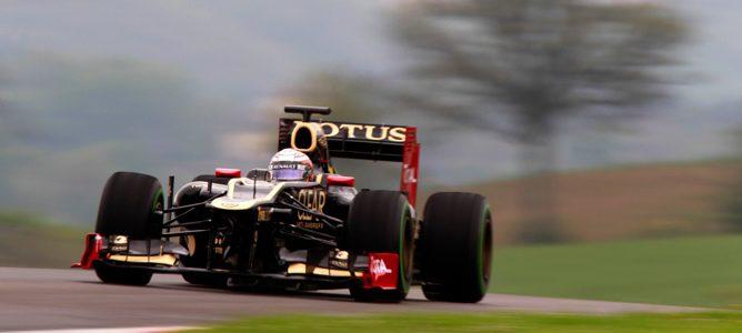 D'Ambrosio pilotando el Lotus E20