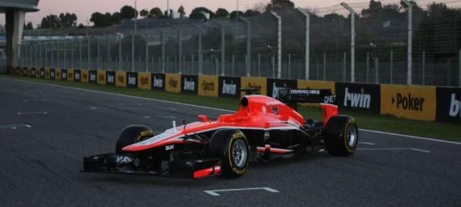 Nuevo Marussia MR02, el nuevo monoplaza de Marussia para la temporada 2013
