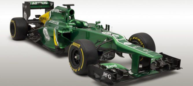 Nuevo Caterham CT03, el nuevo monoplaza de Pic y Van der Garde para la temporada 2013