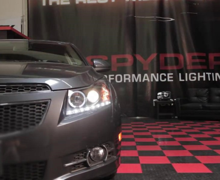 The Guide of 1th Gen Chevrolet Cruze Projector Headlights Installation