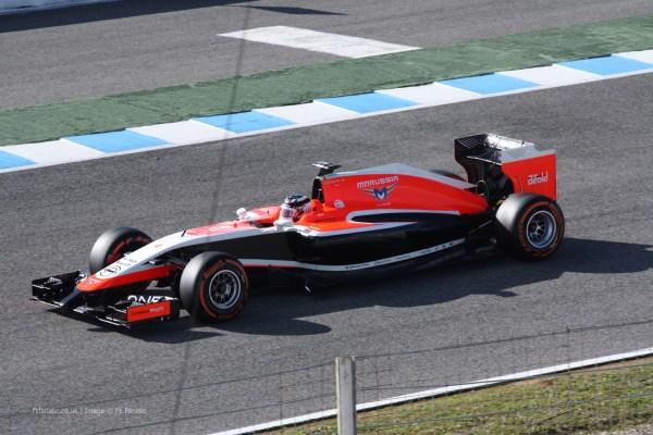 Da Ggoo F1 Lanamentos 2014 Marussia Mr03