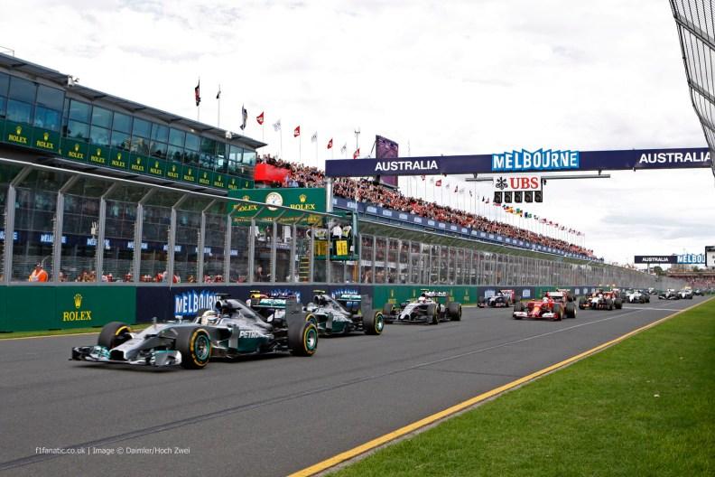 Formula 1 2015 - Australian Grand Prix