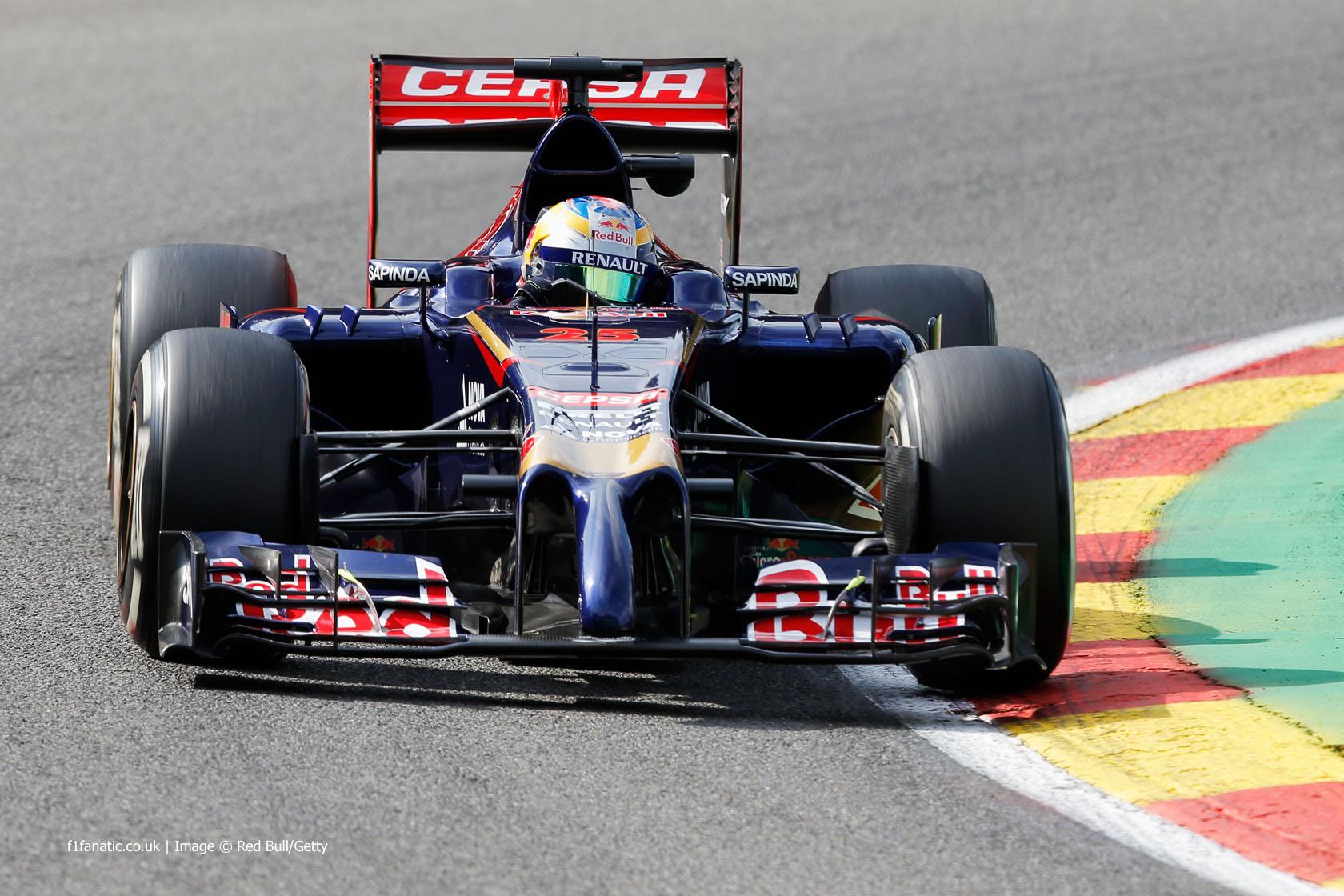 Jean Eric Vergne Toro Rosso Spa Francorchamps F1