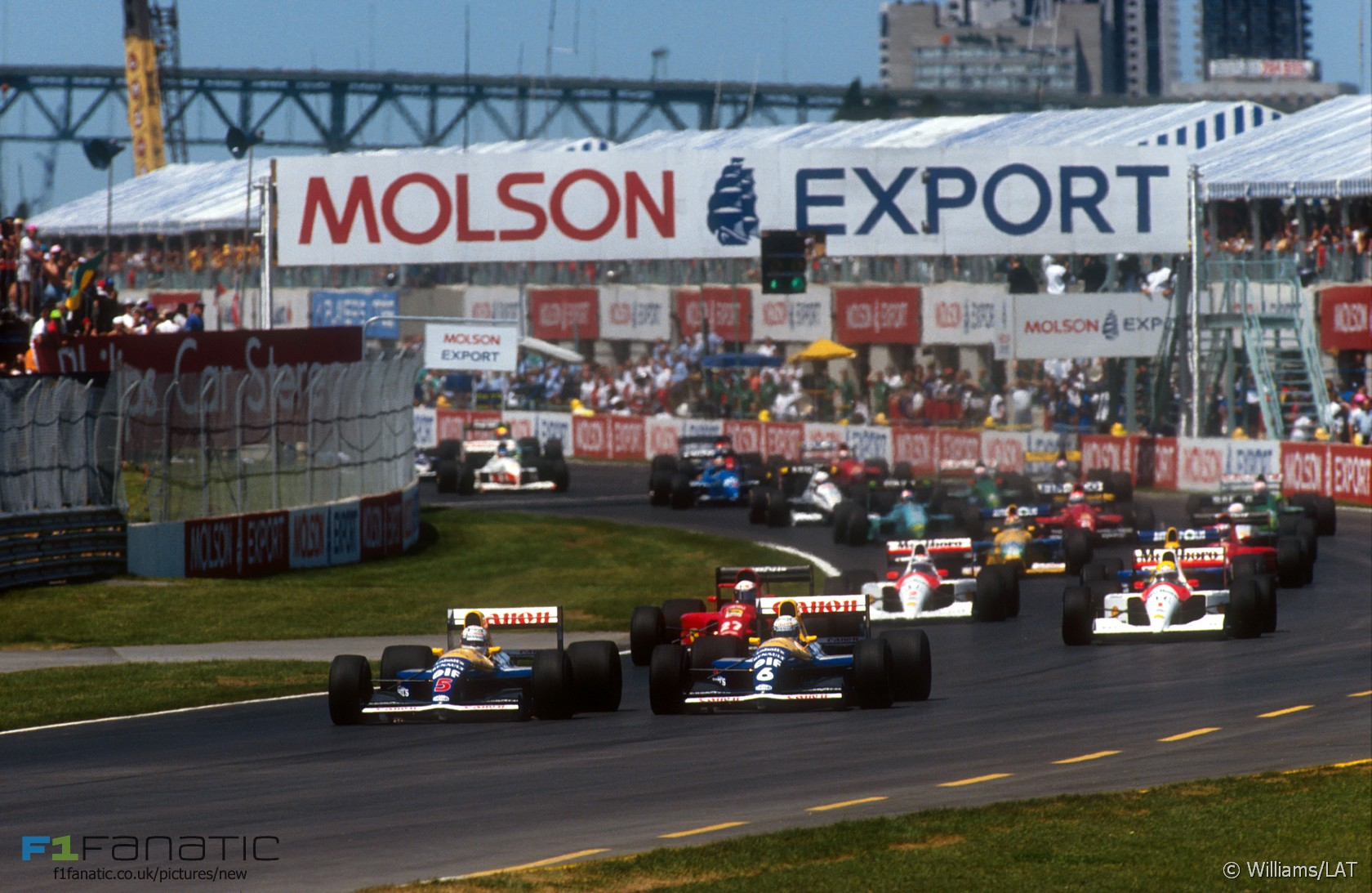 Image result for 1991 canadian grand prix