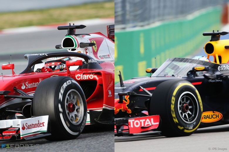 Side-by-side: Compare the Halo with Red Bull's Aeroscreen · F1 Fanatic