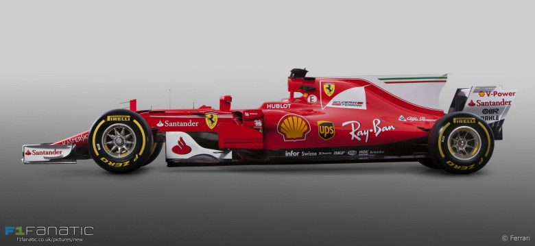 Ferrari SF70H, 2017 · F1 Fanatic
