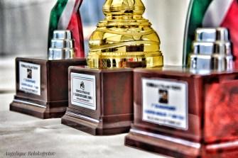 Race 1 Trophies ©Angelique Belokopytov