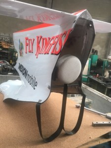 force india fisichella tail fin