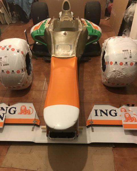 Full F1 Mokeup