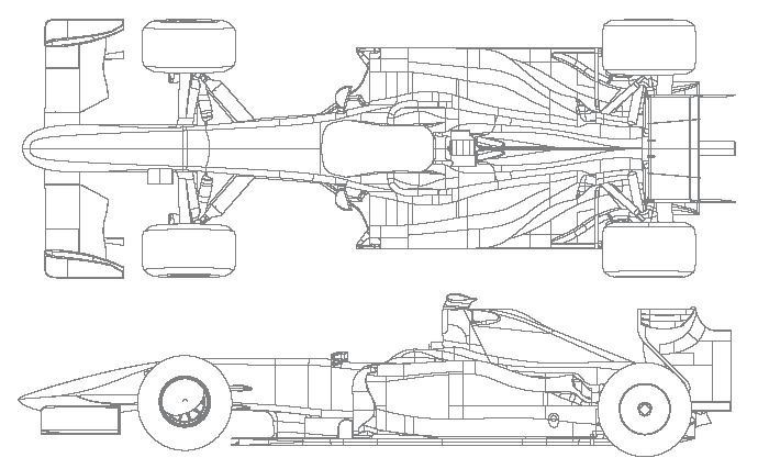 Ferrari Formula One Engine Blueprints, Ferrari, Free