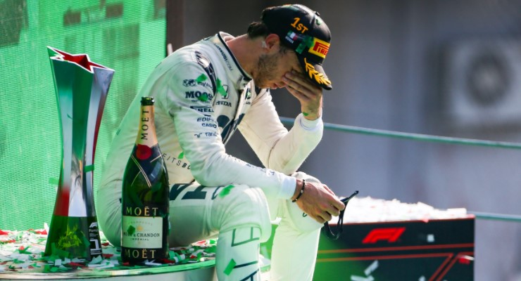 Monza choc: Gasly come Vettel, il trionfo della cenerentola - F1world.it