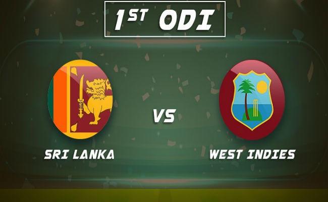 SL vs WI 1st ODI Cricket