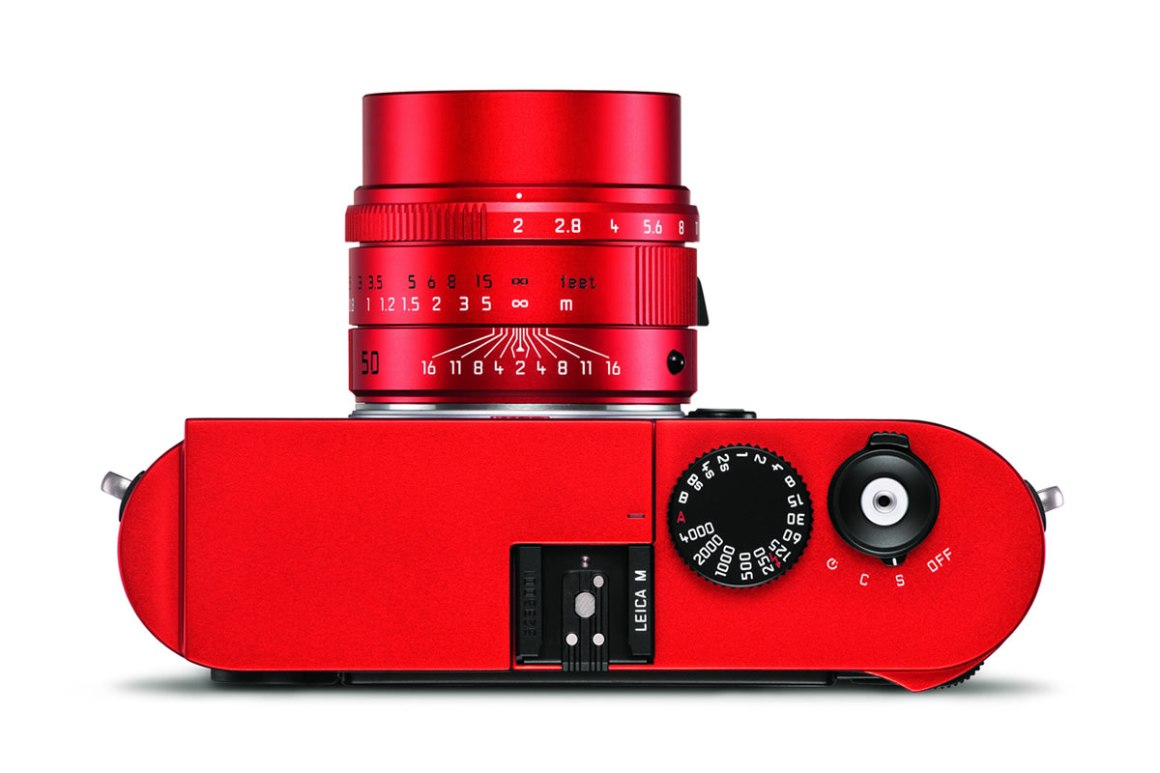 Leica M typ 262 Red Limited Edition