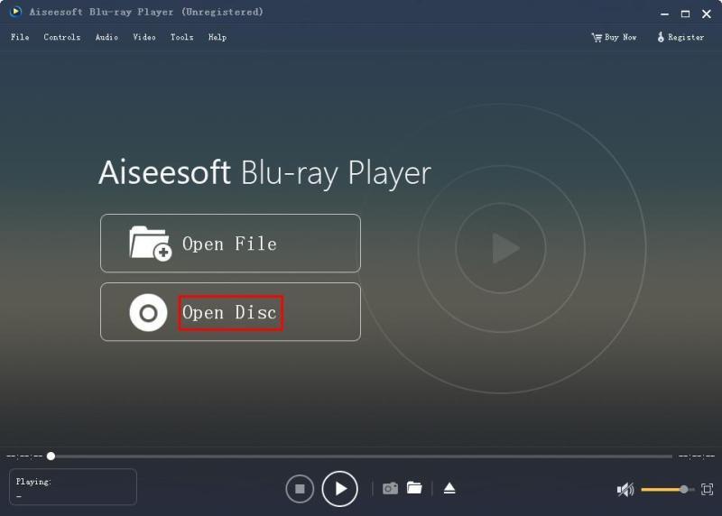 Open Blu Ray Disc