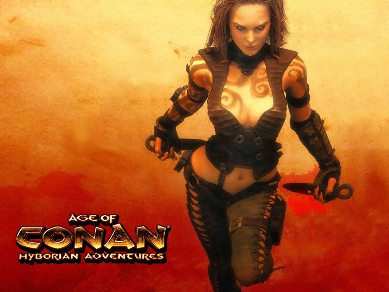 Bat Girl Wallpapers Age Of Conan Wallpapers