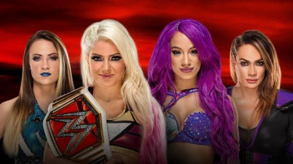 Image result for no mercy fatal four way
