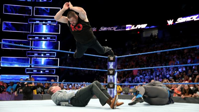 Image result for Vince Mcmahon attacked by ko