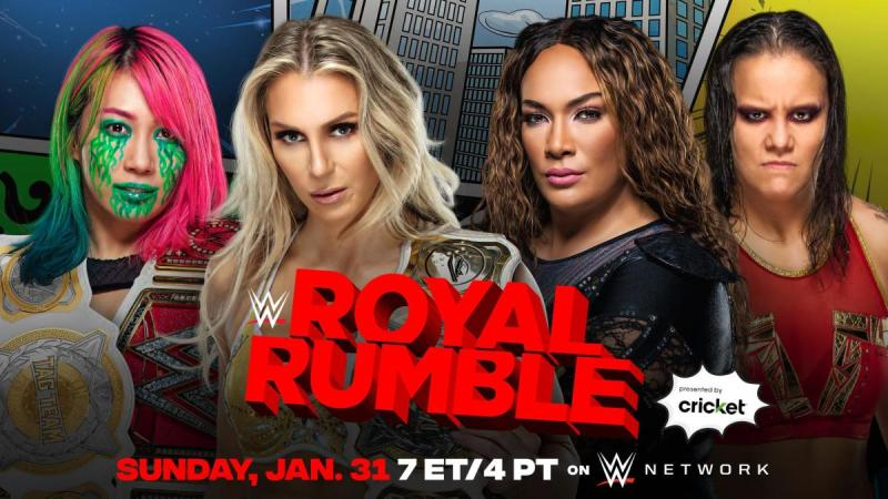 Women's Tag Team title match added to WWE Royal Rumble