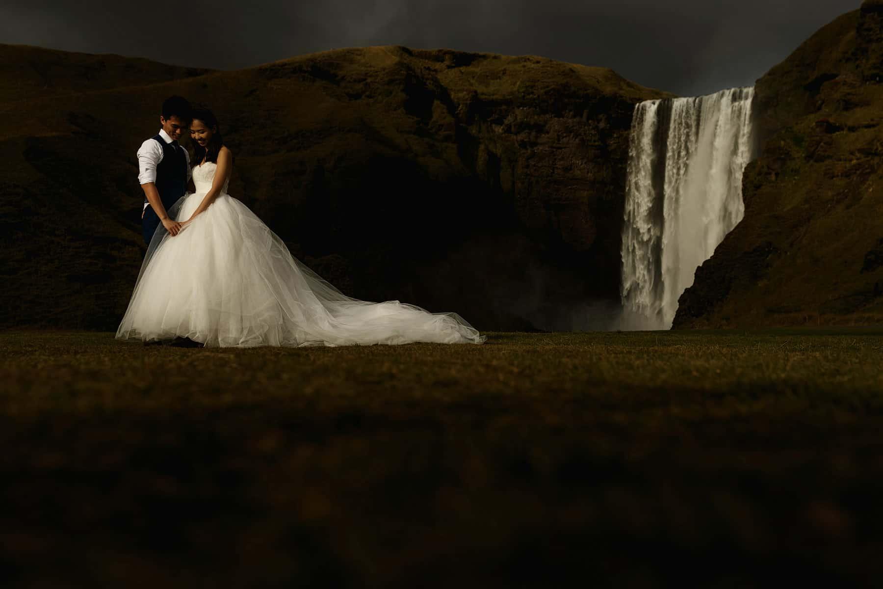 Iceland Pre Wedding Shoot  Destination Photographer