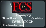One Hour of Bookkeeping Services