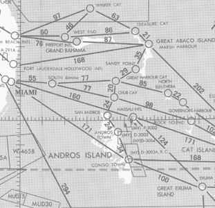 Gulf of Mexico and Caribbean Planning Chart